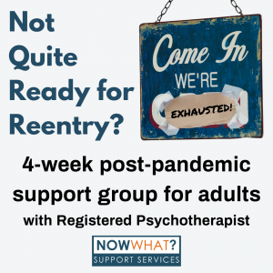 Read more about the article Post Pandemic Support Group for Adults